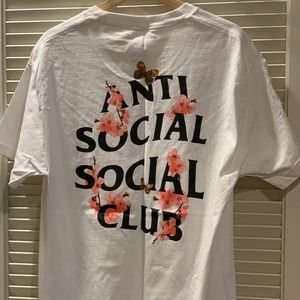 Anti Social Social Club Kkoch Tee White - Sz L